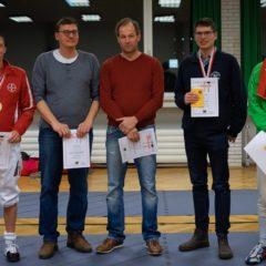 Erste Medaille in 2020: Stefan Wolfteich steht in Duisburg im Finale