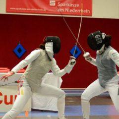 Nationales Qualifikationsturnier in Moers: Florettdamen zeigen ihre Qualität